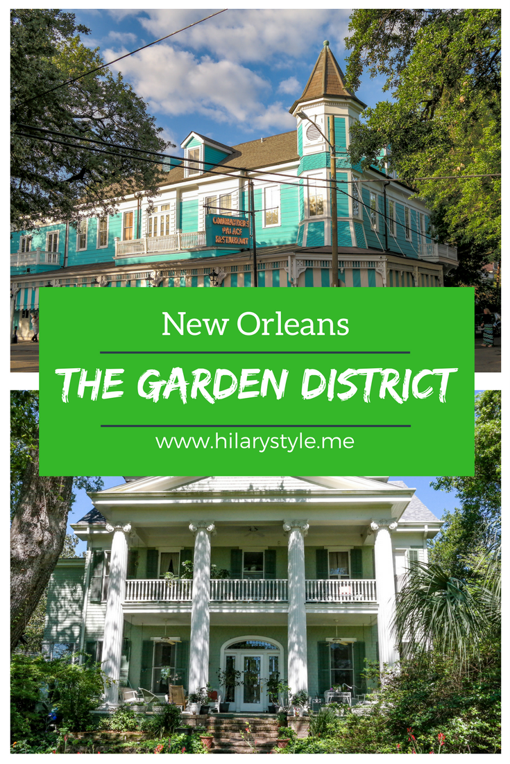 Things to do in the Garden District New Orleans Lousiana #thingstodoinneworleans