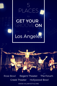 Music Venues in Los Angeles California #musicvenuesLA