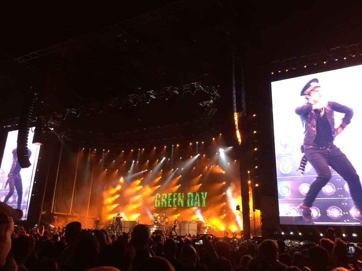 Green Day Concert Rose Bowl Los Angeles California