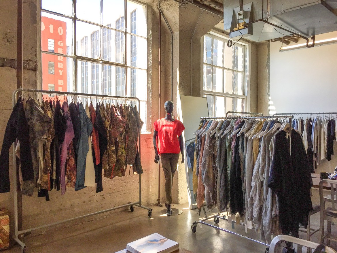 Sample Sale Fashion District Los Angeles California