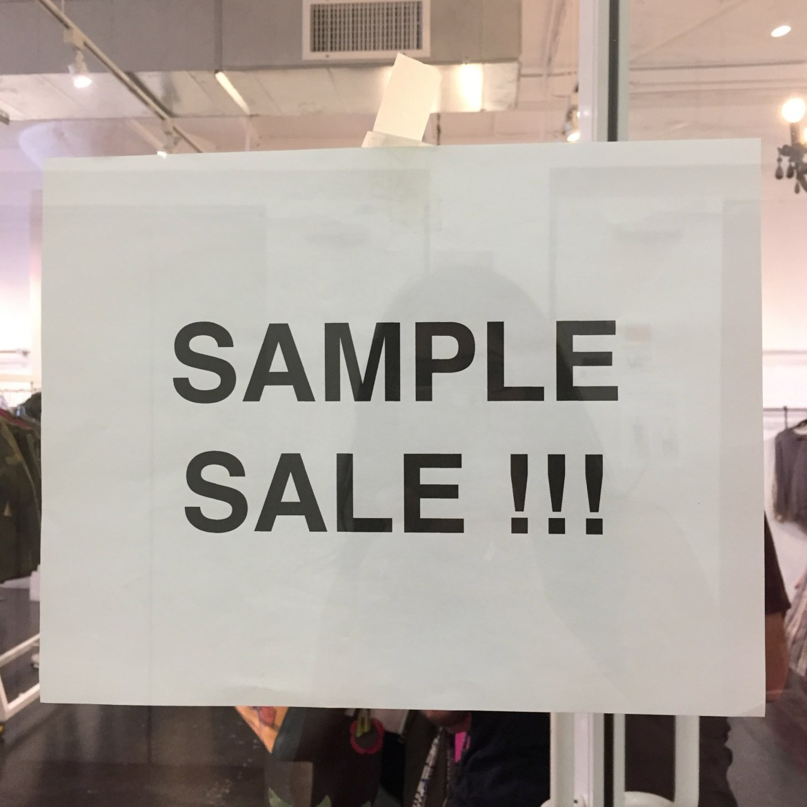 Sample Sales Fashion District Los Angeles California