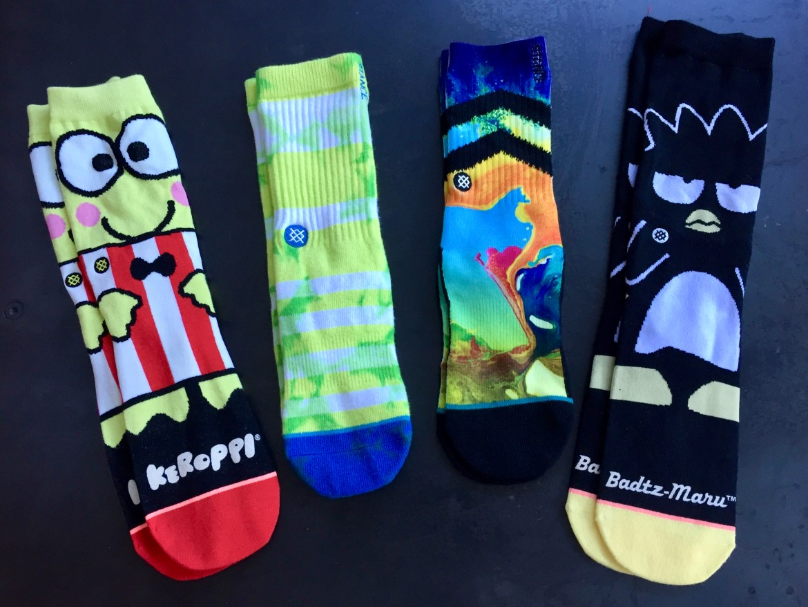 Stance Socks Sample Sale Los Angeles California