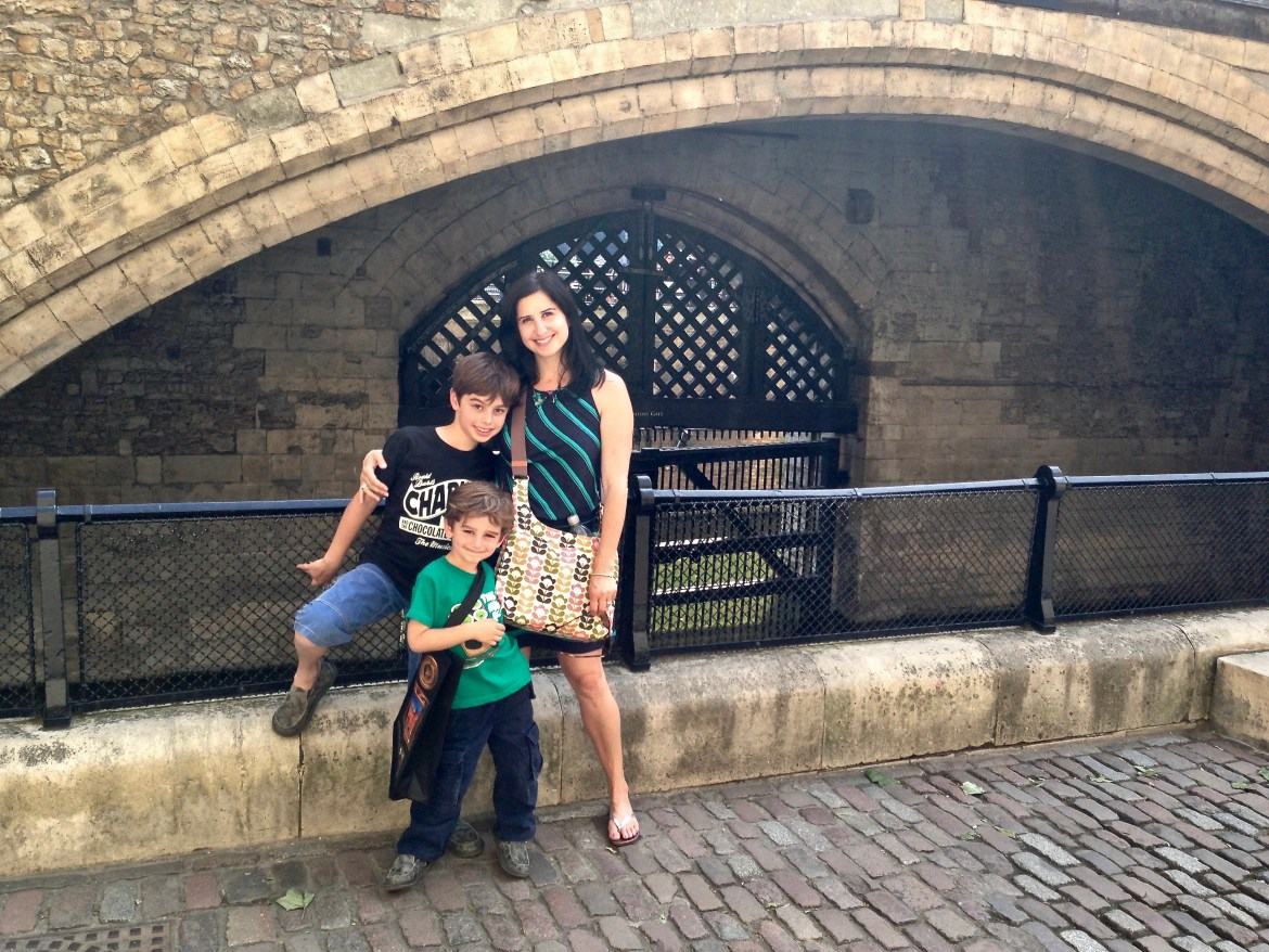 London with kids Tower of London England