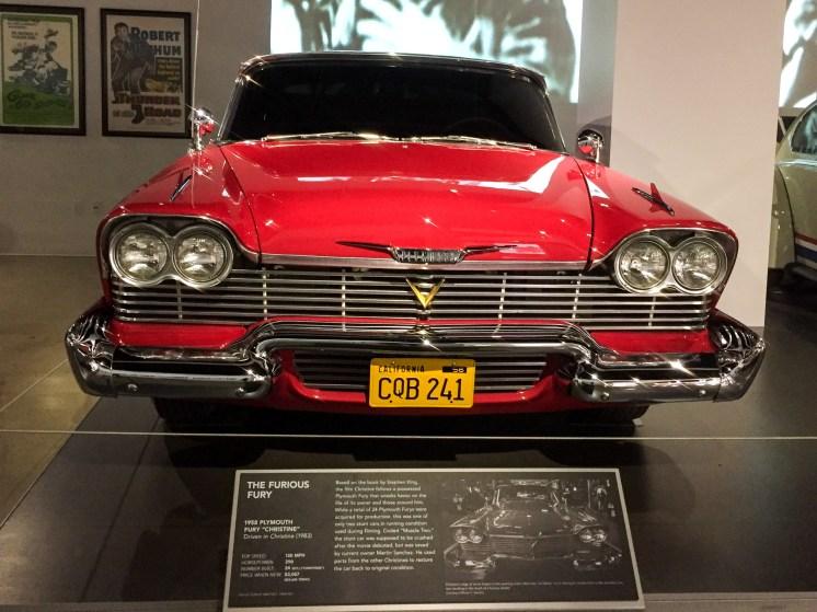Christine Peterson Automotive Museum Los Angeles California