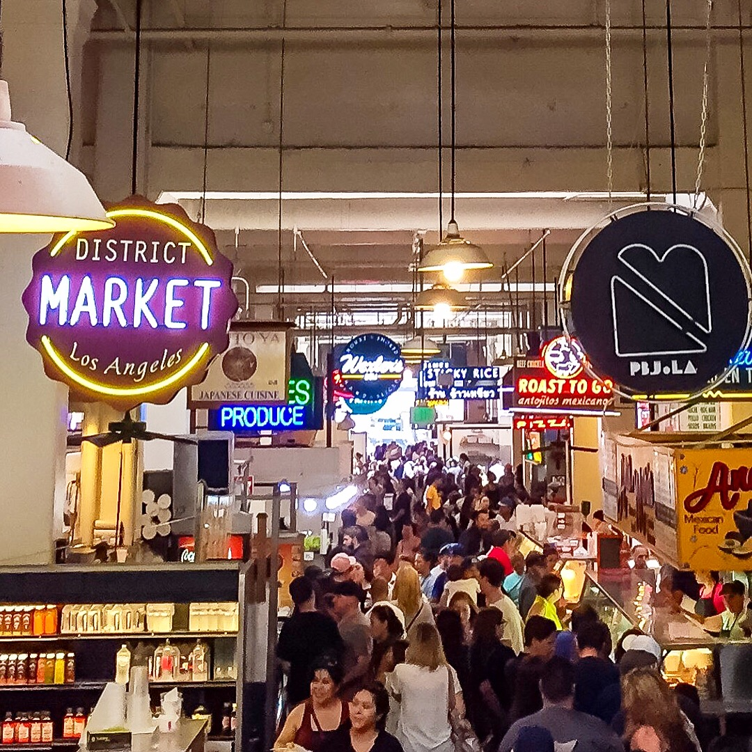 Grand Central Market Los Angeles California
