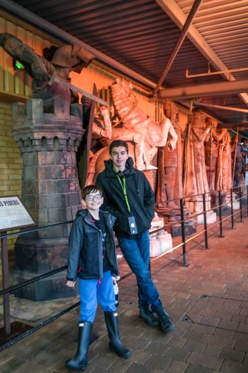 Harry Potter Tour WB Studios London with Kids