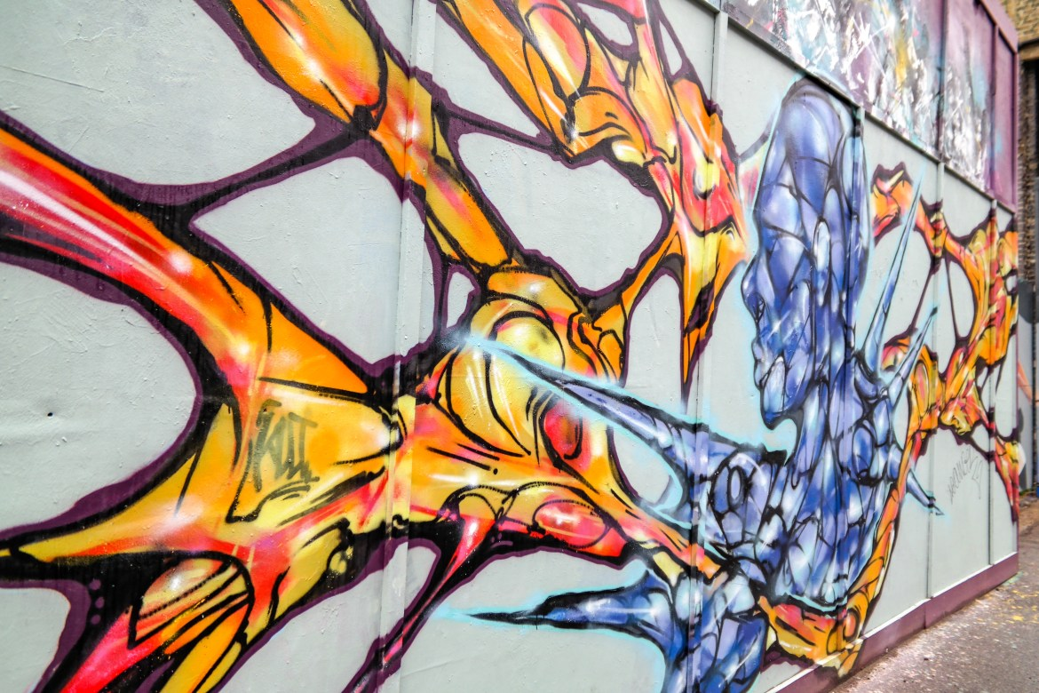 Shoreditch Street art tour London #shoreditch