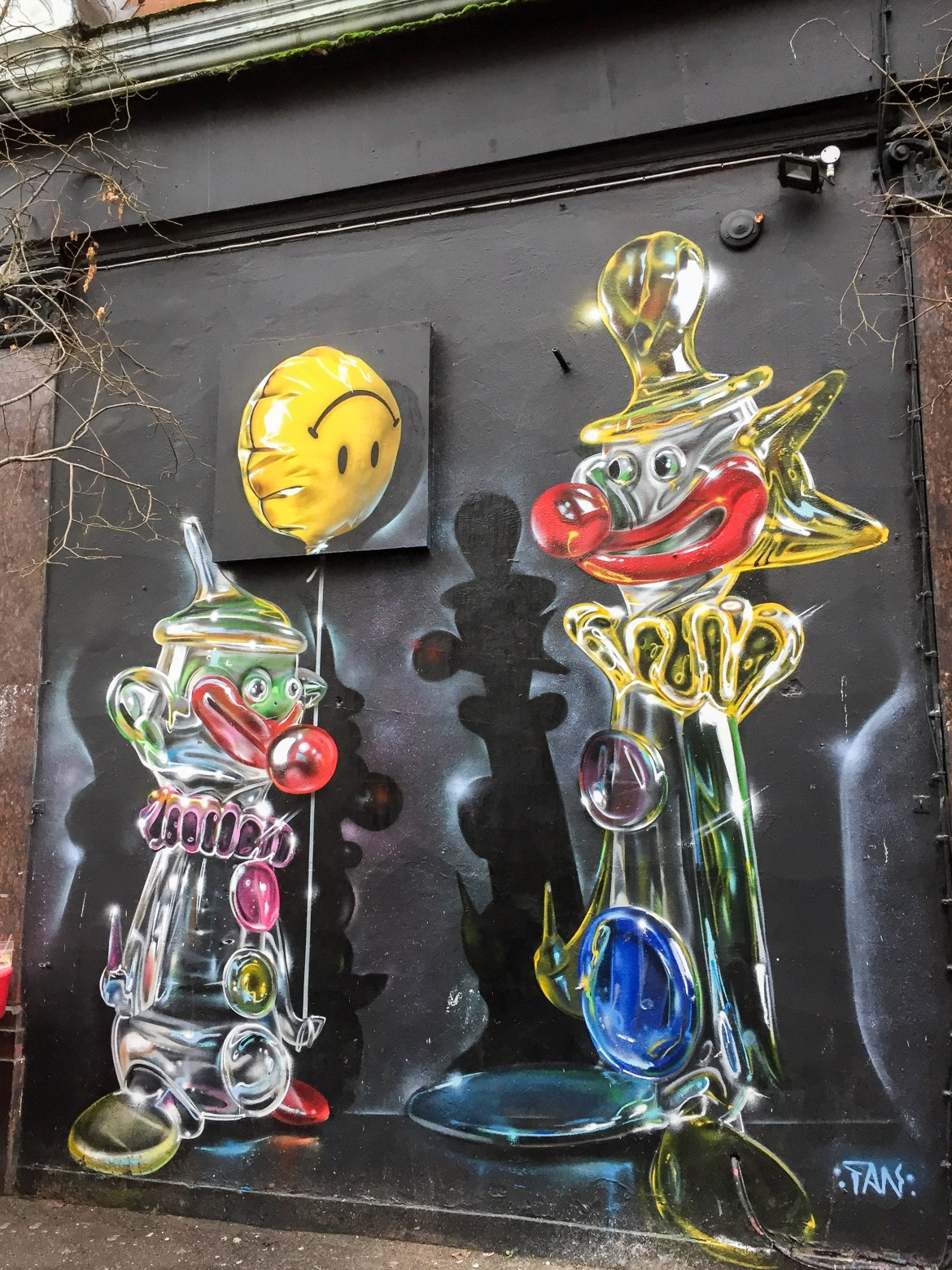 #fanakapan Shoreditch Street Art London