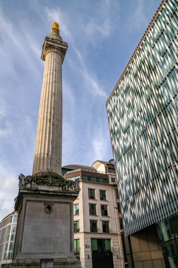 Things to do in London #climbthemonument