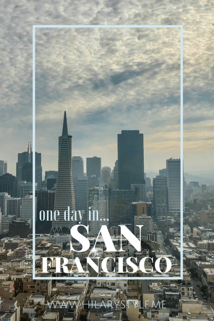 One Day in San Francisco California #sanfrancisco