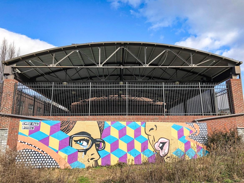 #chrisveal Street Art on The BeltLine Atlanta Georgia