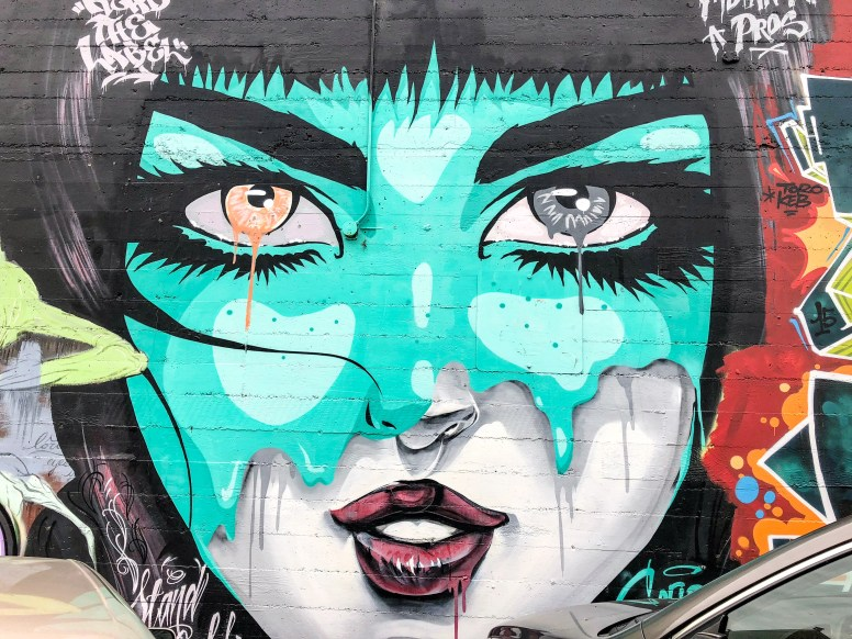 Street Art San Francisco California