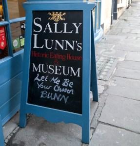 Sally Lunn Bun House Bath England