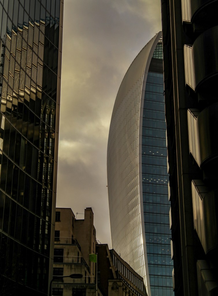 Walkie talkie building London England United Kingdom