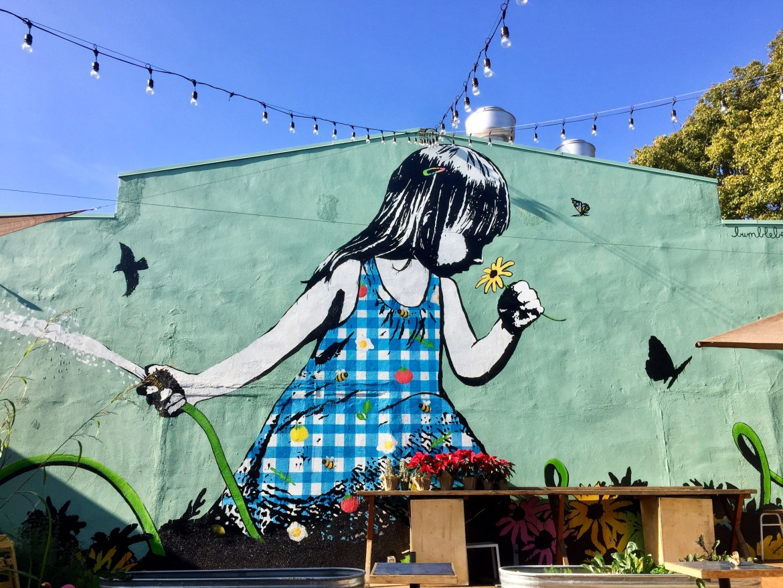 Bumblebeelovesyou #streetartlosangeles