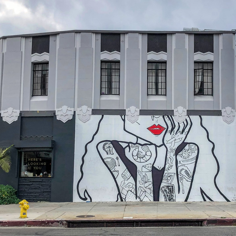 Koreatown street Art PWitte Los Angeles California