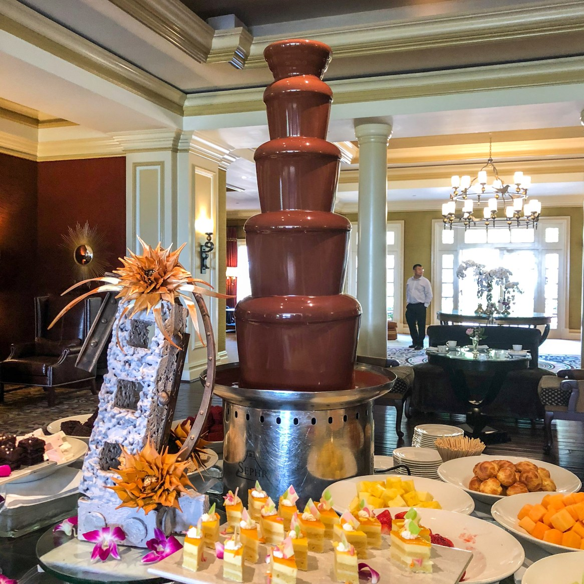 Langham Chocolate Tea Pasadena California