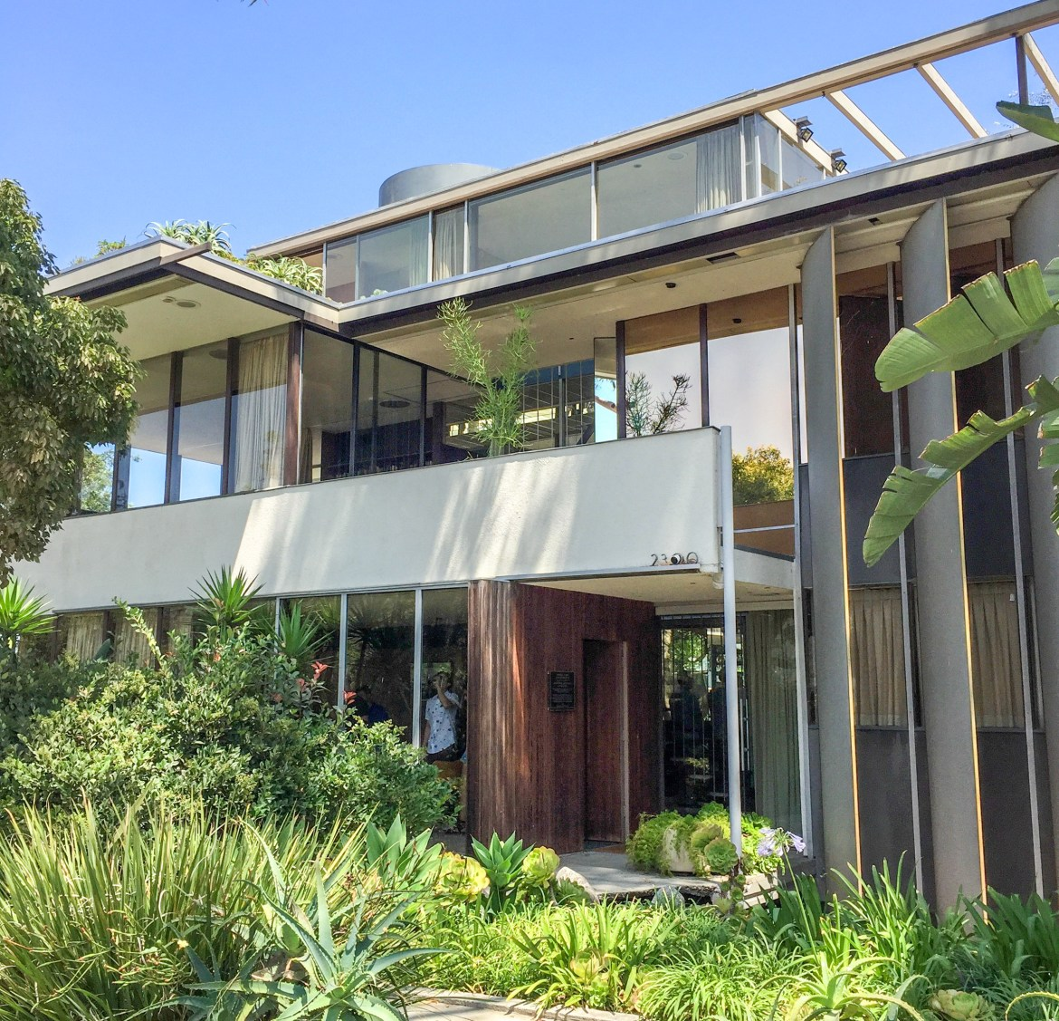 #laarchitecture #neutra The Neutra VDL House Silver Lake Los Angeles California