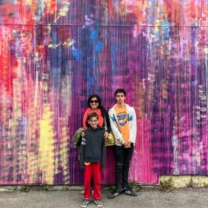 Duncan Jago and Joe Murdter Street Art Eureka California