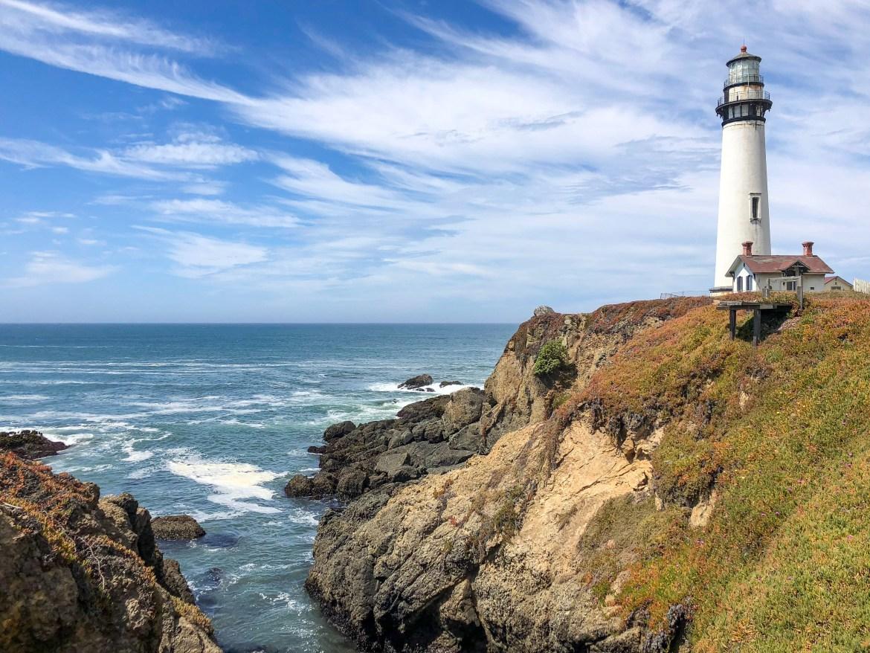 Pigeon Point Lighthouse Pescadero California West Coast Road Trip