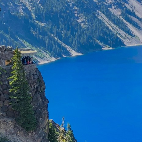 Sinnott Memorial Overlook Crater Lake