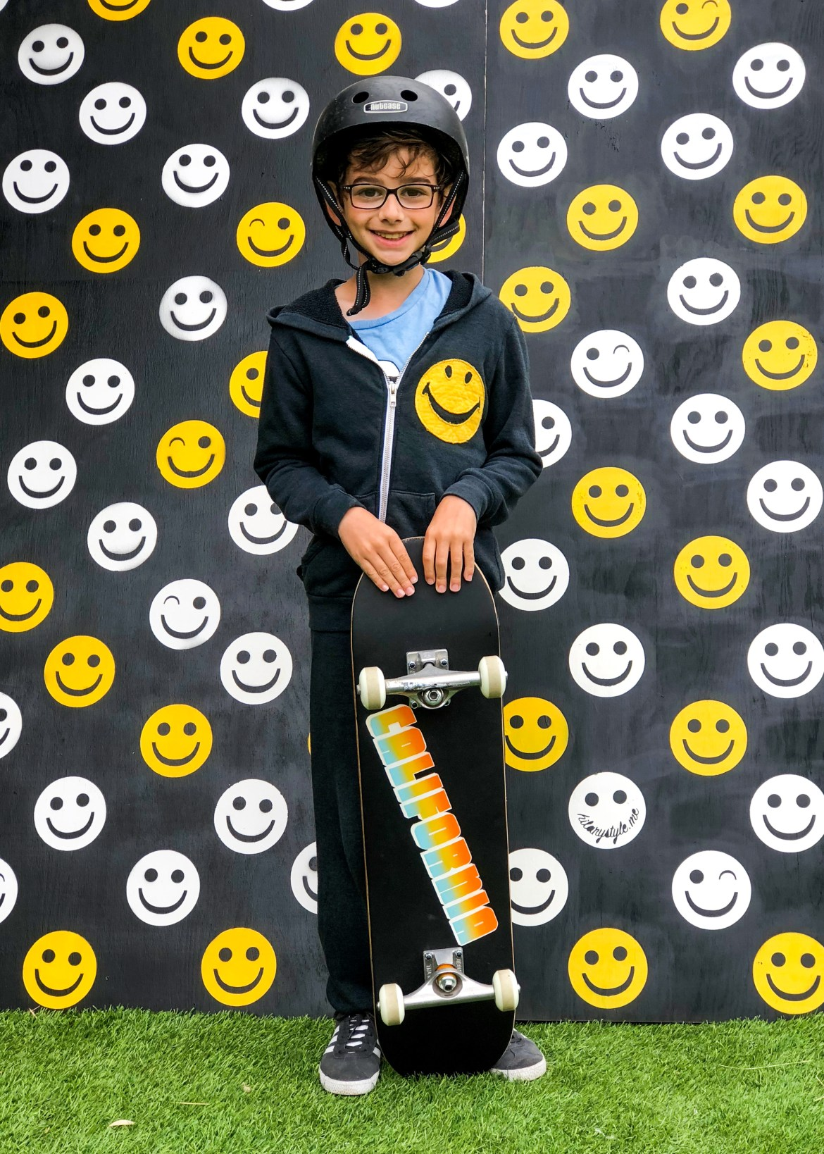 Vacation Postcard California Skateboard hilarystyle