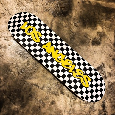 Los Angeles Skateboard hilarystyle