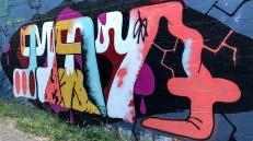 Street Art Alley Alberta Arts District Portland Oregon