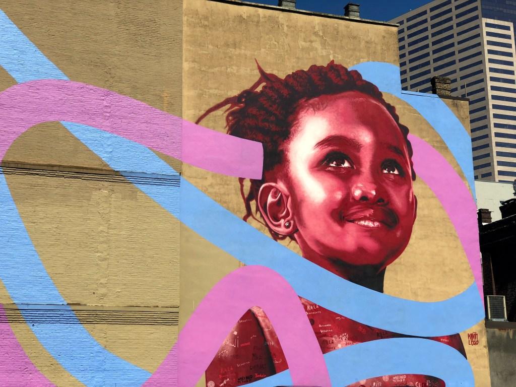 Street art Portland Oregon #kevinledo