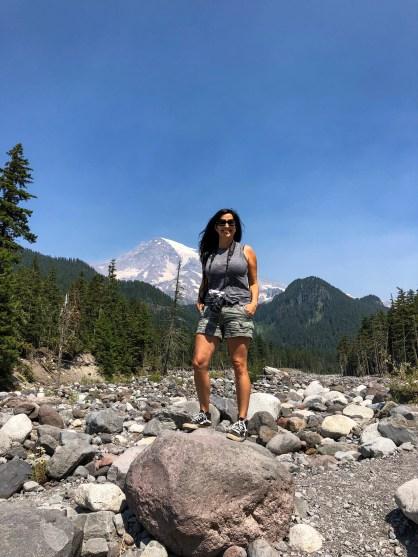 Carter Falls Trailhead Mount Rainier Washington