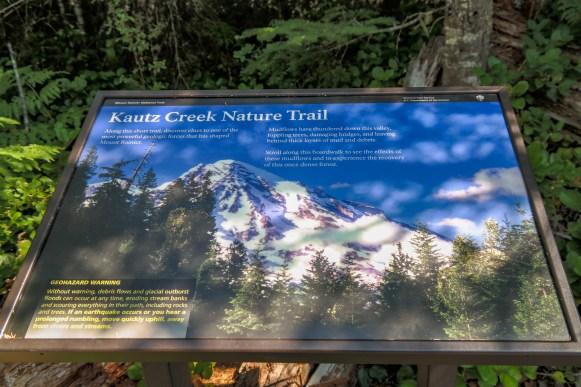 Kautz Creek Mt Rainier Washington
