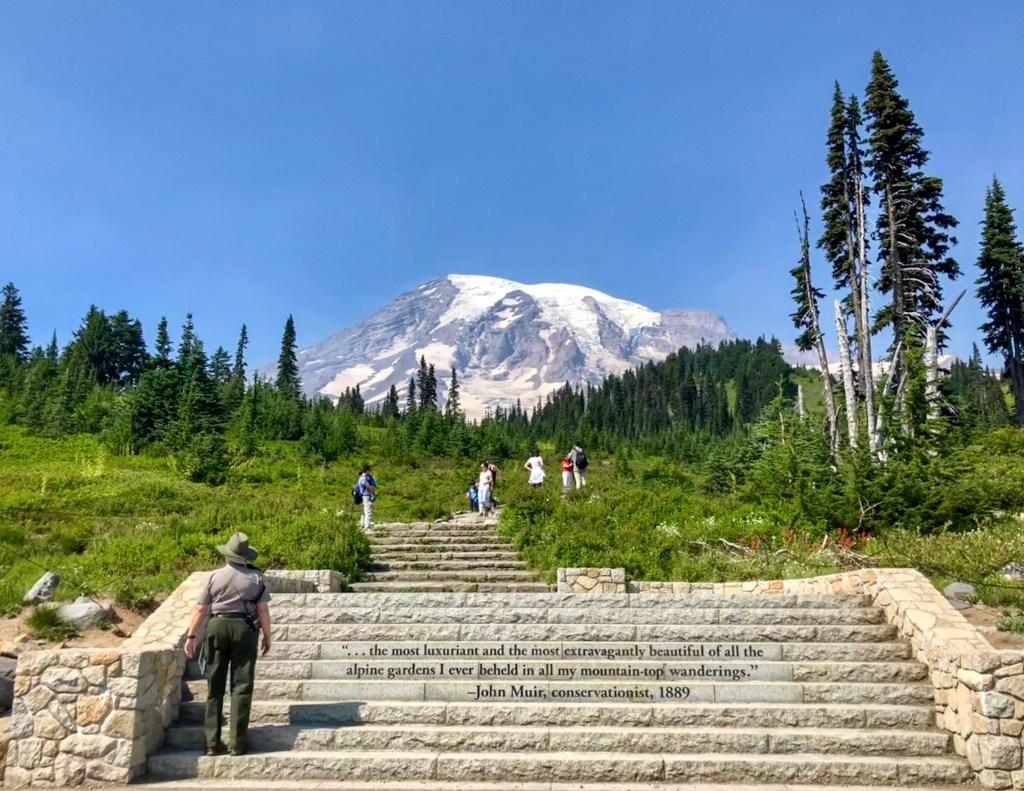 Park Ranger Paradise Mount Rainier