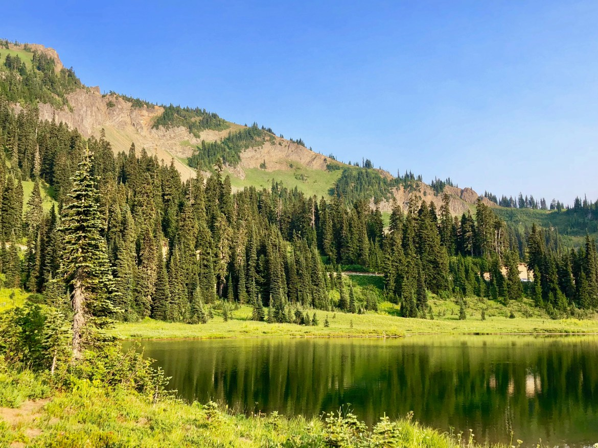 Tipsoo Lake Mount Rainier Washington