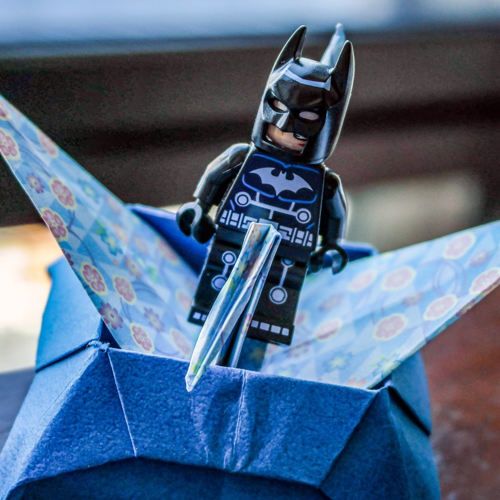 Batman Orders Room Service at the Peninsula Hotel Tokyo Japan #origami