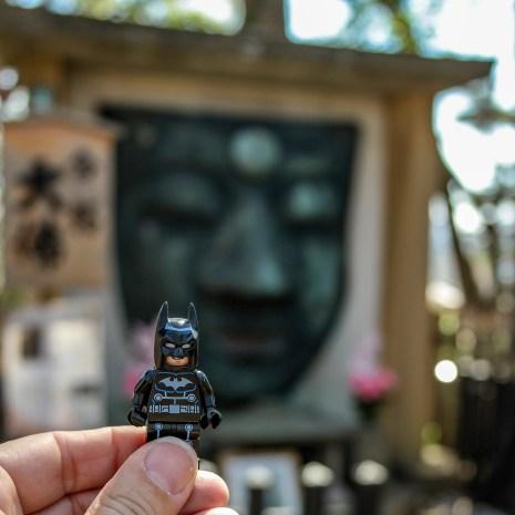 Batman vistis Tokyo Japan