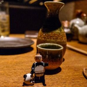 Batman goes to Kyoto Japan