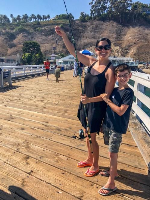 Malibu Fishing Pier #travelwithkids