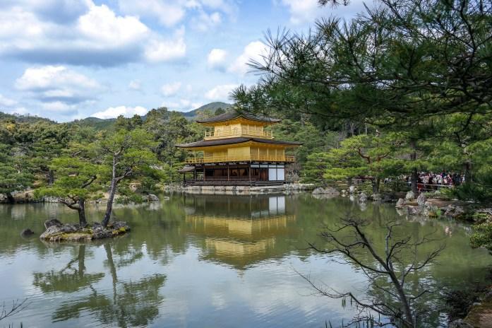 Kinkakuji Kyoto Japan #travelwithkids