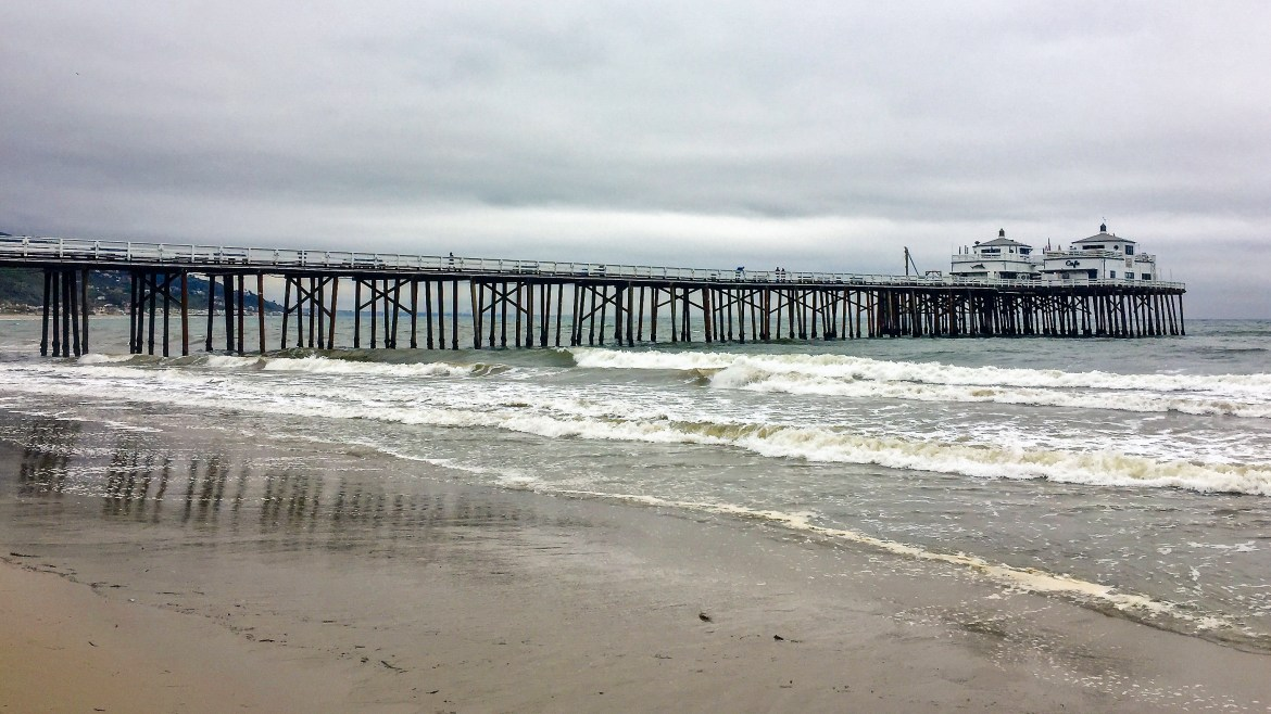 Malibu Fishing Pier Malibu California #surfriderbeach