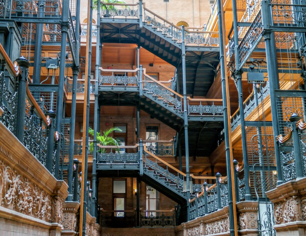 The Bradbury Building Los Angeles California