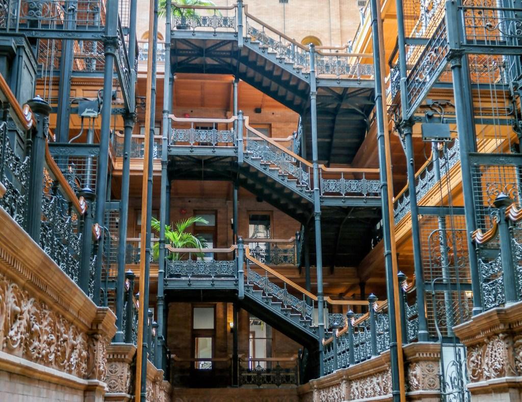 The Bradbury Building Los Angeles California