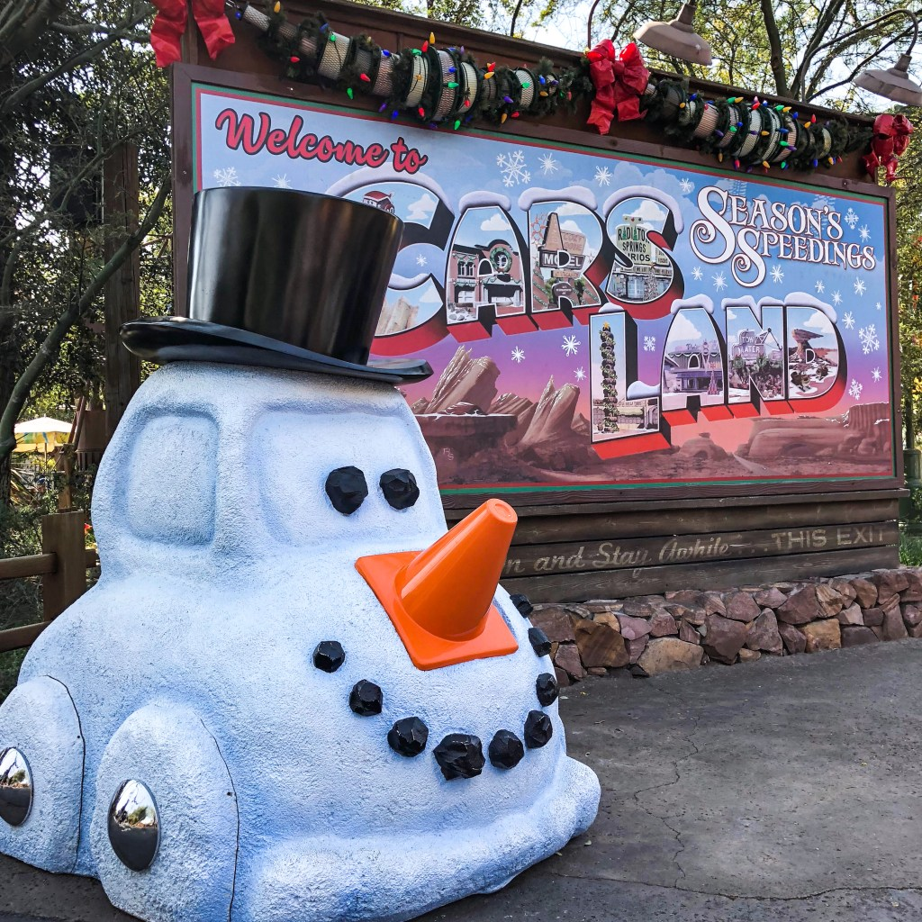 California Adventure Holiday Disneyland California #seasonsspeedings