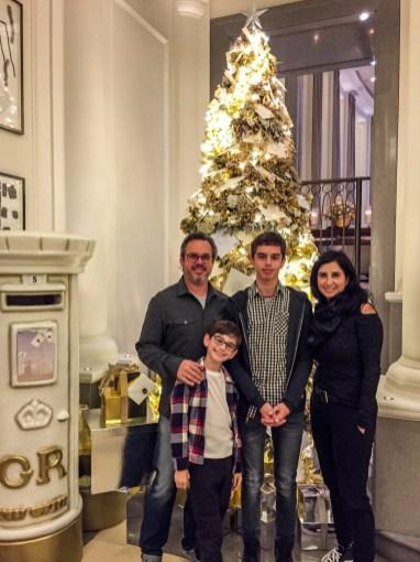 Corinthia Family Christmas London England