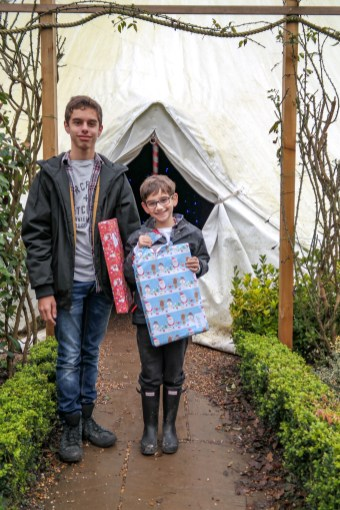 Visiting Father Christmas at Hever Castle #familytravel #daytripfromLondon