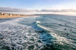 Manhattan Beach Pier Manhattan Beach California #manhattanbeach