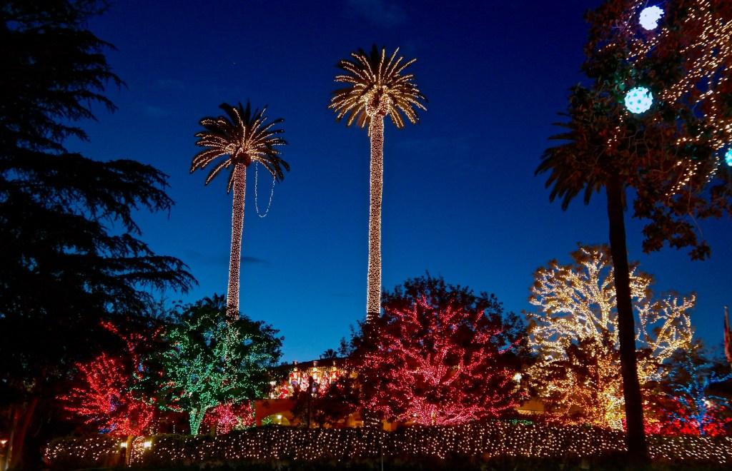 Pacific Palisades Holiday Lights #losangeleschristmas