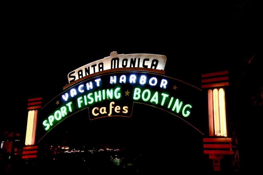 The Santa Monica Pier Sign #santamonicapier