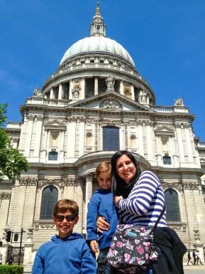 St. Paul's London England United Kingdom #familytravel