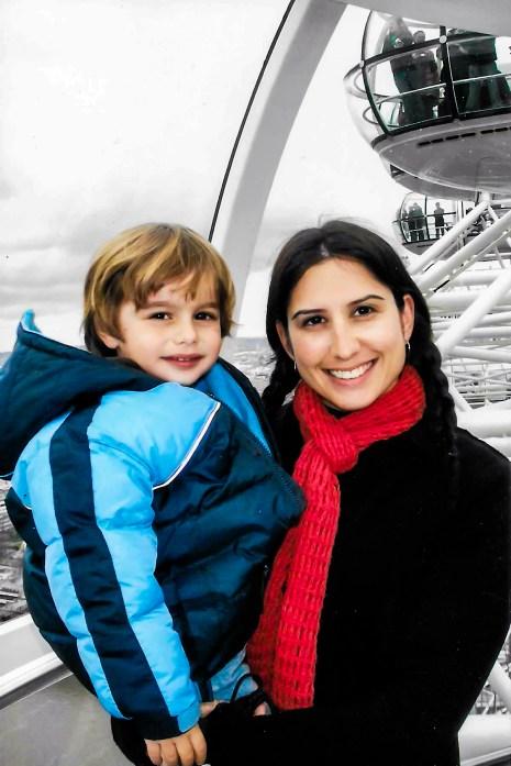 #familytravel #londoneye Travel with Kids