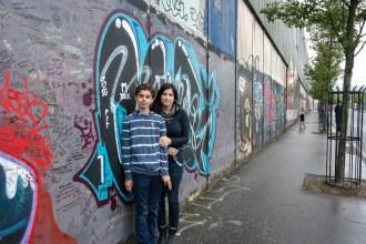 Peace Wall Belfast Northern Ireland